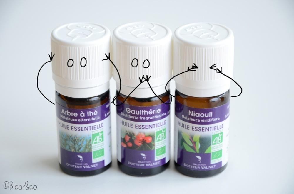 utiliser huiles essentielles