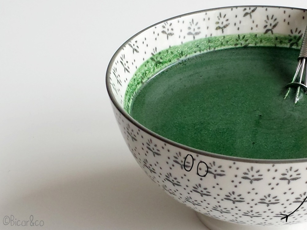 masque spiruline huile de brocoli