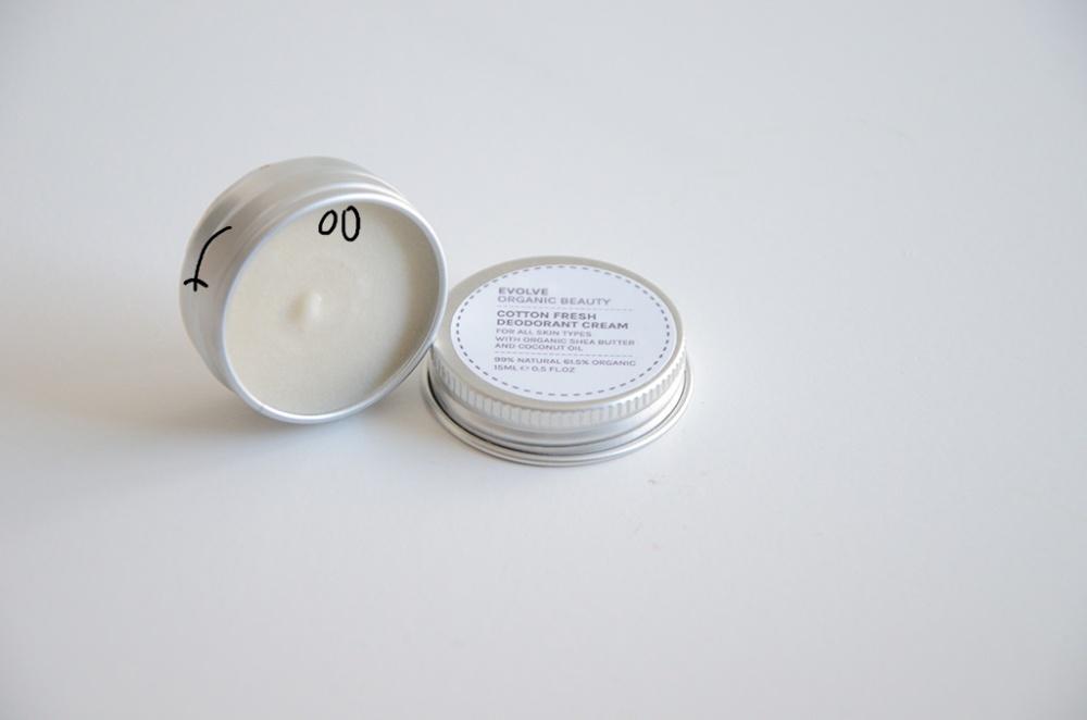 déodorant evolve beauty
