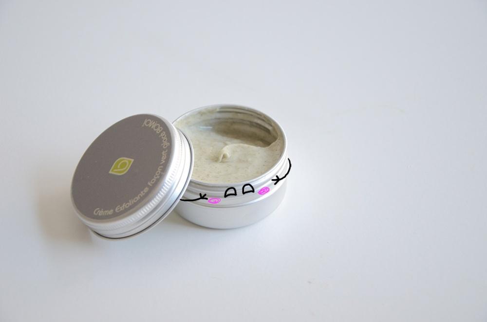 crème exfoliante bomoï